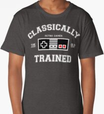 Classically Trained Long T-Shirt