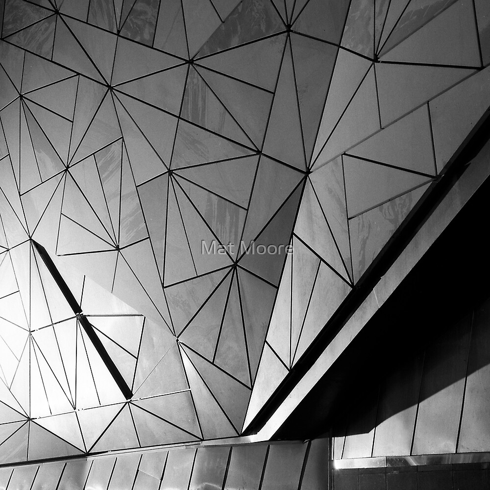 ' Federation Square ' by Mat Moore
