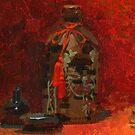 Red still life by David  Kennett