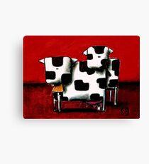 Baby Bull Production Canvas Print