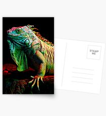 Iguana From The Deep Postcards