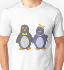 Penguins In Love - A Cute Couple T-Shirt