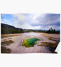 Green Eye - Amazing, Incredible Landscape, Wild, Nature Poster