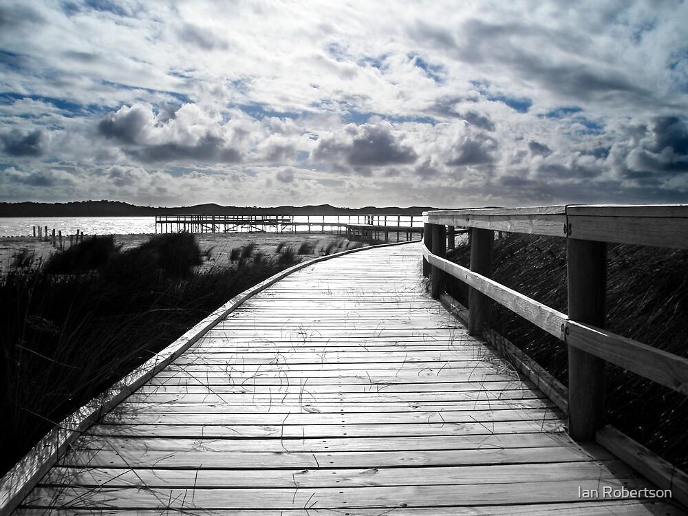 the boardwalk by Ian Robertson