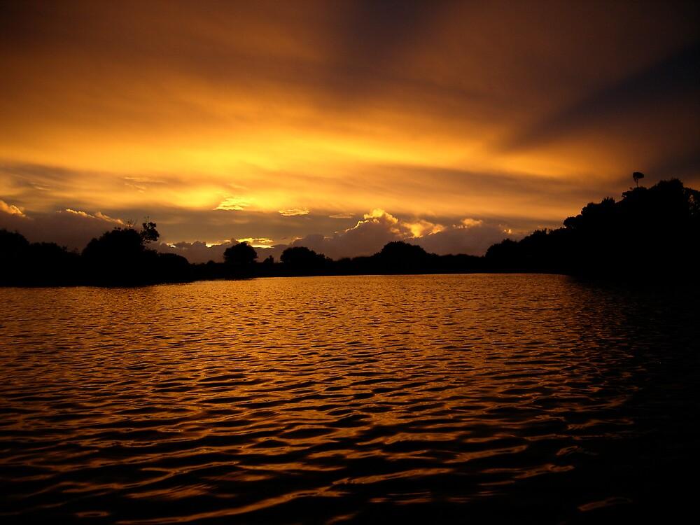 Stanley Sunset by framedfish