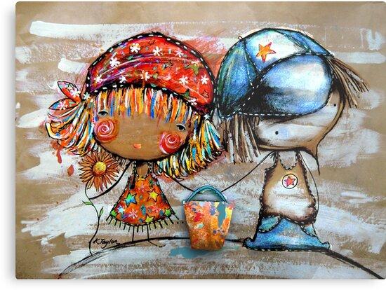 Jack and Jill  by Karin Taylor