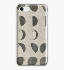 Antique Moon Phases Chart iPhone Case/Skin