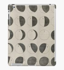 Antique Moon Phases Chart iPad Case/Skin