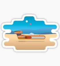 Lukes LandSpeeder Sticker