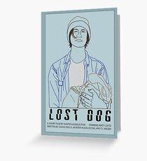 Lost Dog (2016) Greeting Card