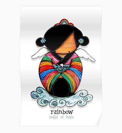 Rainbow - Angel of Hope Poster