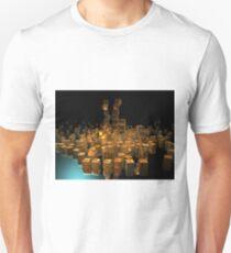 Stacked Gold: POV RAY CGI! T-Shirt