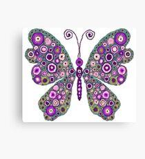 Artistic Butterfly Art Canvas Print