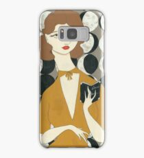 Moon Phases Woman Samsung Galaxy Case/Skin