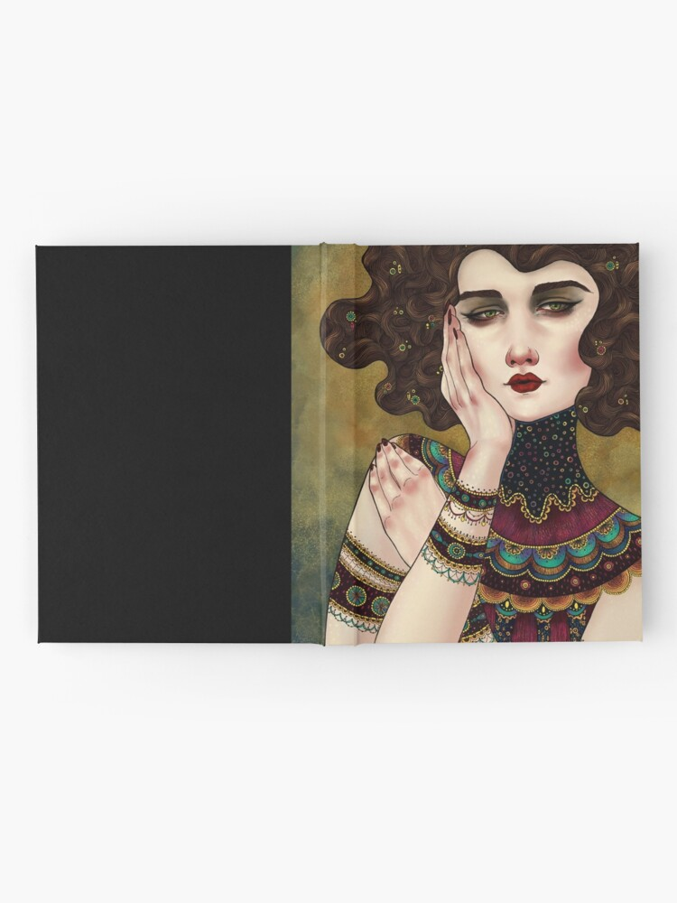 Alternate view of Klimt Muses 5 Hardcover Journal
