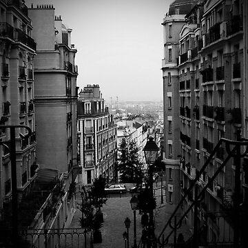 Montmartre, Paris by rsobiera