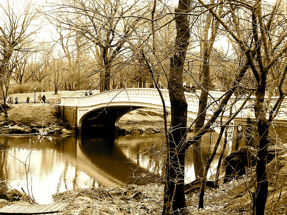 Bridge to the city by pbeltz