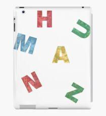 Reality life HUMANZ sticker iPad Case/Skin