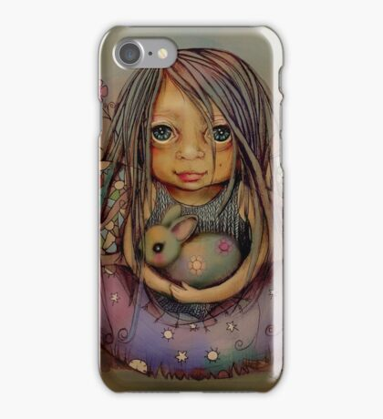 tiny and isabella  iPhone Case/Skin