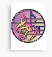Music Symbols 1 Canvas Print