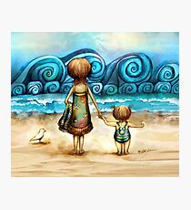 Beachcombers Photographic Print