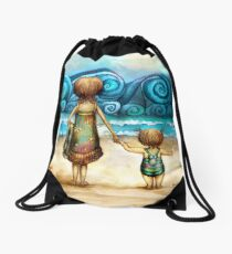 Beachcombers Drawstring Bag