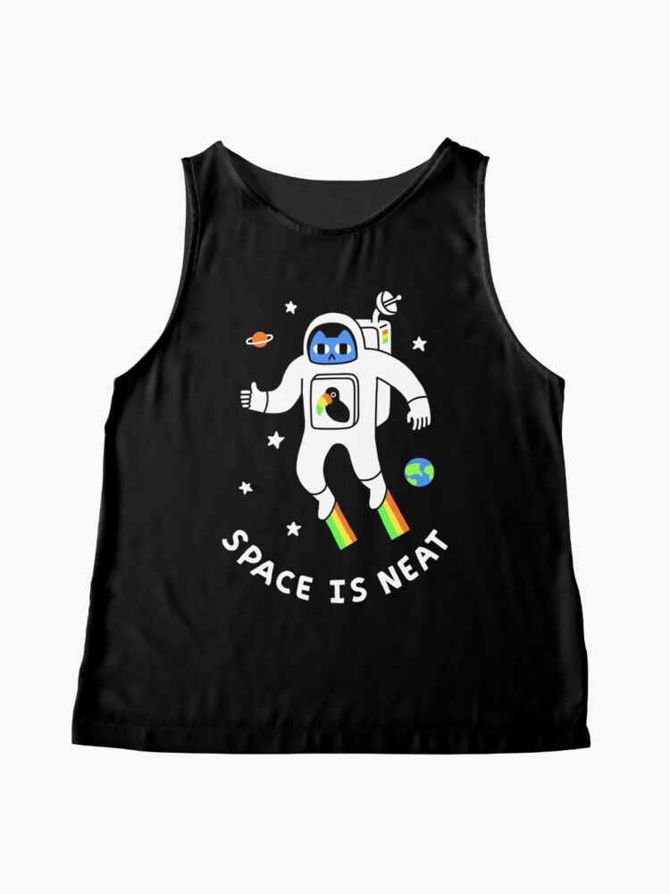 Alternate view of Space Is Neat Sleeveless Top