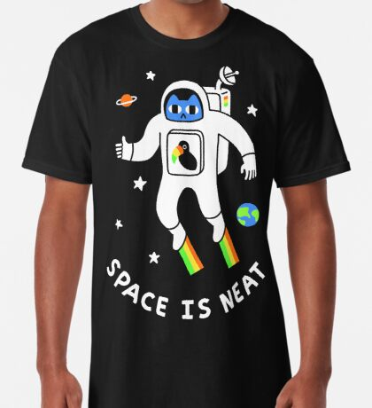Space Is Neat Long T-Shirt