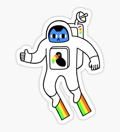 Space Is Neat Glossy Sticker