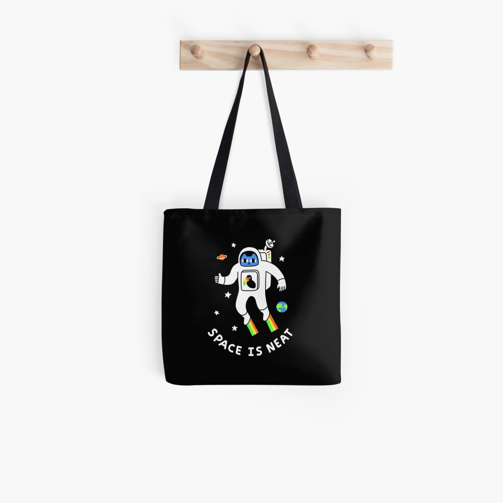 Space Is Neat Tote Bag
