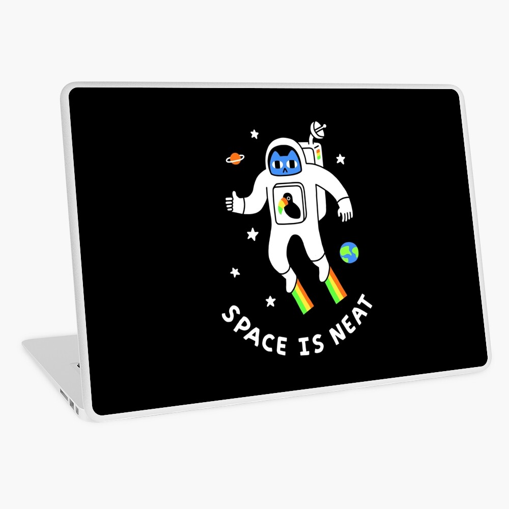 Space Is Neat Laptop Skin