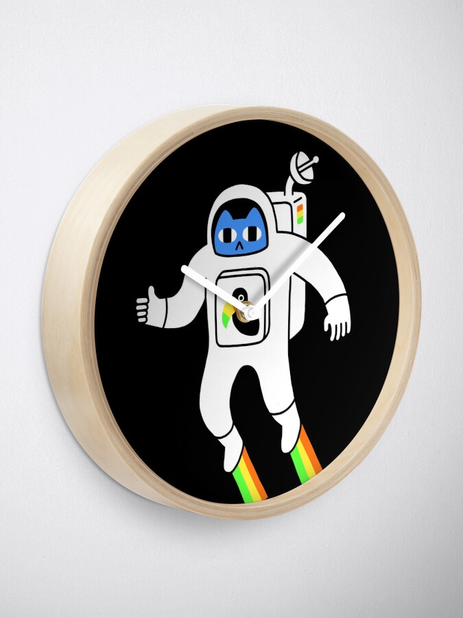 Alternate view of Space Is Neat Clock
