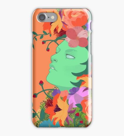 The Green Lady iPhone Case/Skin