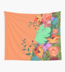 The Green Lady Wall Tapestry