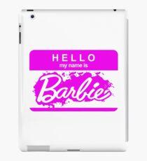 Barbie Logo iPad Case/Skin