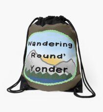 Wandering Round Yonder Drawstring Bag