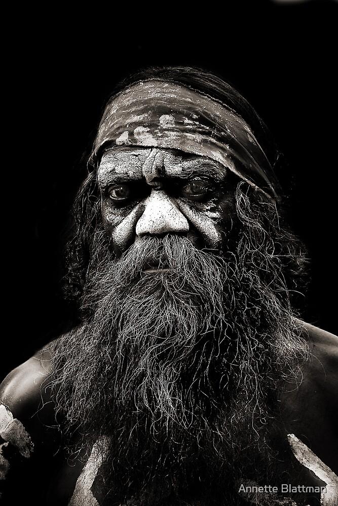 Aboriginal Man by Annette Blattman