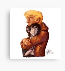 Will Cuddles Nico Canvas Print