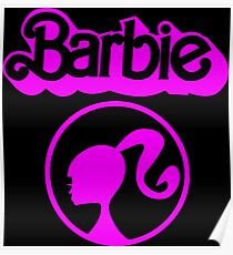 Sweet Barbie Logo Poster