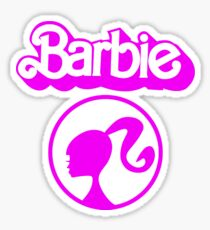 Sweet Barbie Logo Sticker