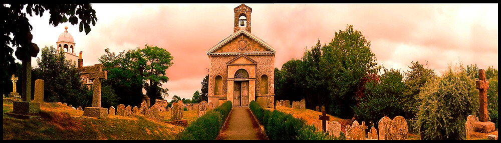 Firle church by Agachi
