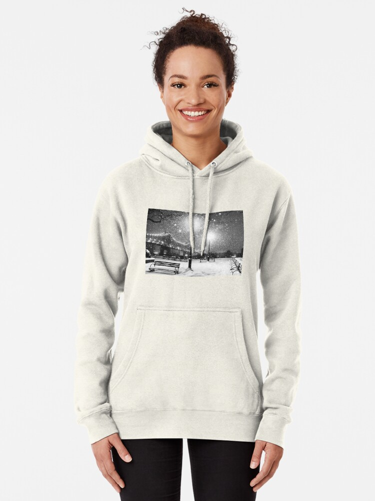 Alternate view of New York City Snow Pullover Hoodie