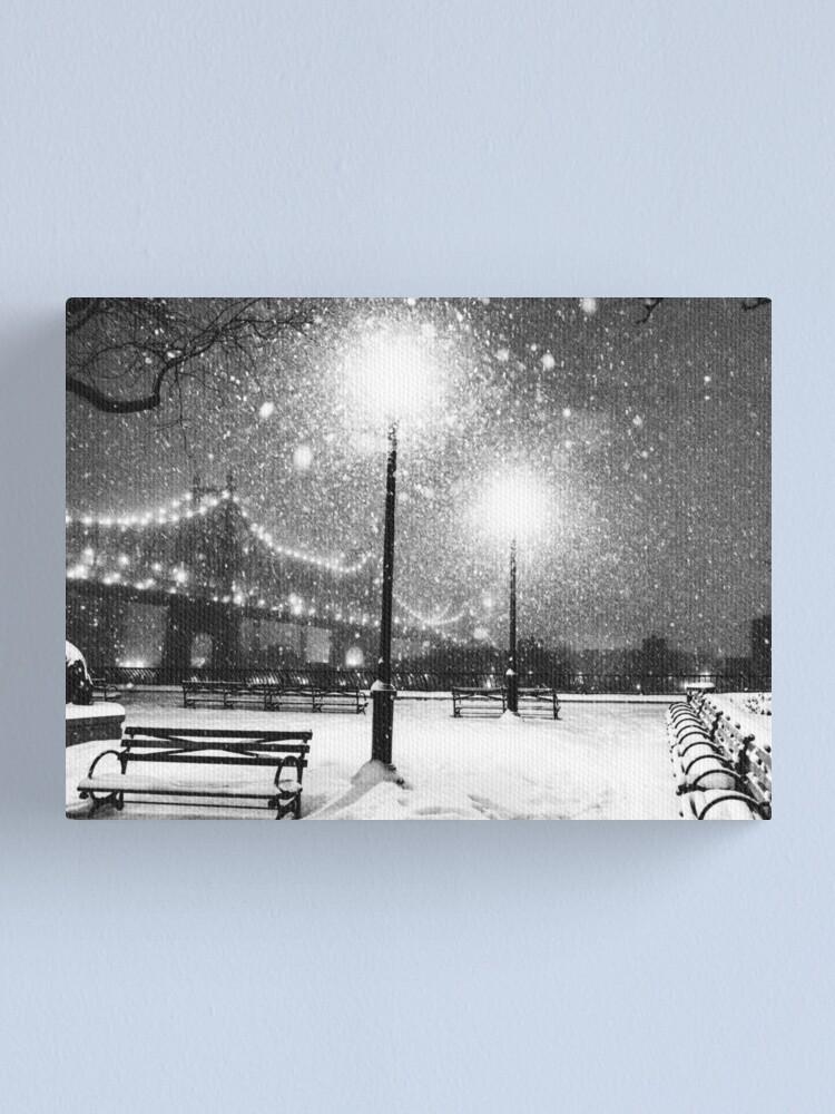 Alternate view of New York City Snow Canvas Print