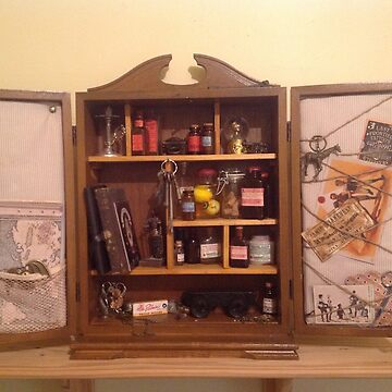 Cabinet of Curiosities.  by Danny