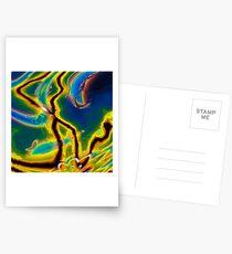 Iridescent Stars 5 Postcards
