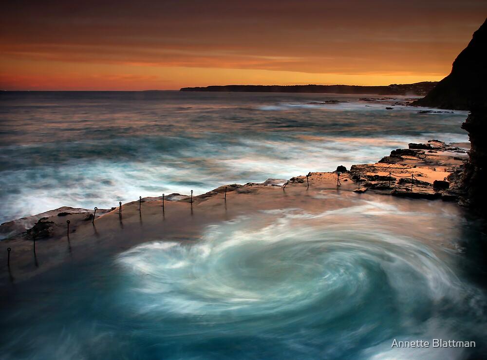 Quot Bogey Hole Whirlpool Quot By Annette Blattman Redbubble