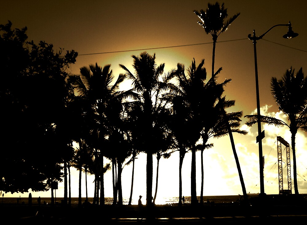Sunset in Shadow by pbeltz