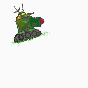 Laser Tank by MuscularTeeth
