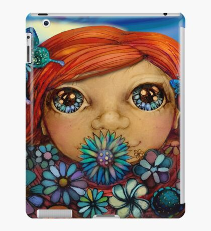 Love is the Flower You've Got to Let Grow iPad Case/Skin