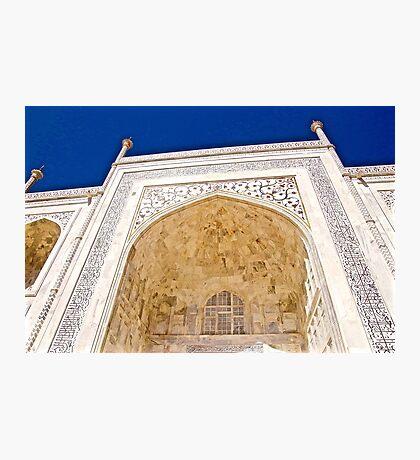 Calligraphy of Taj Mahal Photographic Print